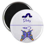 Butterfly Clean Dirty Dishwasher Magnet