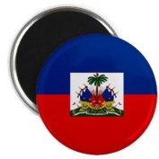 HAITI World Flag 5.7cm Fridge Magnet