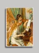 Renoir Girls at Piano Refrigerator Magnet