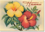 Hawaiian Hibiscus, Hawaii by Eve - Hawaiian Art Collectible Refrigerator Magnet