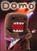 Domo-Kun Rock Superstar - Button Magnet