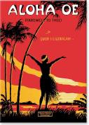 Aloha Oe (Farewell to Thee) Vintage Music Sheet - Hawaiian Art Collectible Refrigerator Magnet