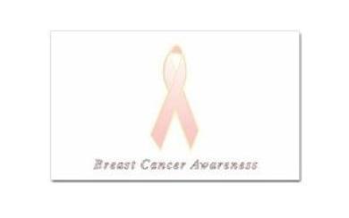 Breast Cancer Awareness Rectangular Magnet