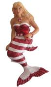 December Diamonds Sexy Blond Peppermint Mermaid Magnet