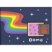 Domo Japanese Cartoon Pop Tart Rainbow Magnet