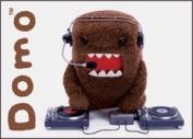 Domo Kun Disc Jockey DJ - Button Magnet