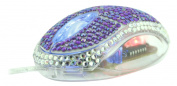 Satzuma Diamante Mouse - Purple