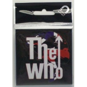 """The Who """"Leap Logo"""" Refrigerator Magnet"""