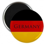 GERMAN World Flag Germany Text 5.7cm Fridge Magnet