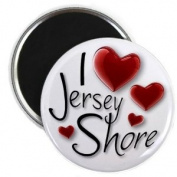 I HEART Jersey Shore 2.25 Fridge Magnet