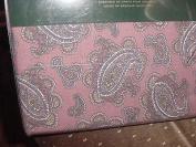 Ralph Lauren Red Lavender Paisley Sheet Set, Twin
