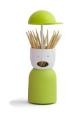 Qualy Picky Boy Toothpick Holder - Green