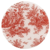 Andreas TRT154 25.4cm Silicone Trivet, Red Toile