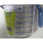 Arrow Plastic 030 Cool Grip 1.5 Cup Measuring Cup - Pack of 6