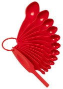 POURfect Measuring Spoon Set - Red