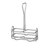 Vollrath Company WR-1020 Wire Rack Cruet Caddy, 150ml