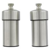 Chef Specialties S/S 10.2cm Futura Pepper Mill / Salt Mill Set