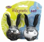 Chef'n PepperBall & SaltBall Mini Magnetic Grinder Set