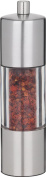 Trudeau Professional Stainless Steel Red Pepper Mill, 19.1cm