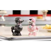 Retroflection Poodle Salt and Pepper Shaker by Giftcraft