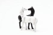 Horses Kiss Magnetised Salt and Pepper Shaker Set