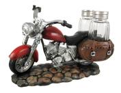 SPICY RIDER Retro Motorcycle Salt & Pepper Shaker Set