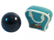 Bowling Ball & Bag Ceramic Salt and Pepper Shakers by Giftcraft