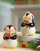 Giftcraft Ceramic Penguin Salt & Pepper Shakers