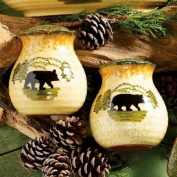 Black Bear Forest Salt & Pepper Set