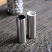 SteelForme Brushed Stainless Steel Salt & Pepper Shakers