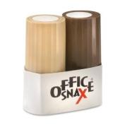 Office Snax Salt and Paper Shaker Set - 120ml Salt, 45ml Pepper