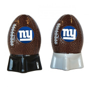 NFL NY Giants Sculpted Salt and Pepper Shakers