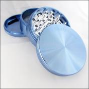 100% Authentic XLarge Sharpstone Herb Grinder 4 Piece Blue + Cali Crusher® Pollen Press
