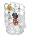 InterDesign Clear Linus Coffee Pod Spinner