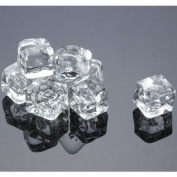Acrylic Ice Cubes Square Shape, 0.91kg Bag