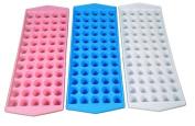 (3 Pack) Ice Cube Tray Mini Ball Shape, Each Tray Makes 60 Ice Balls