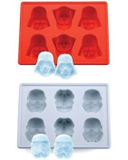 Star Wars Darth Vader & Storm Trooper Silicon Ice Cube Tray Set Of 2