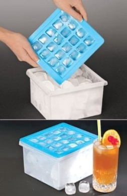 Ice Cube Tray With Storage Container Bin By Mtr Inc Shop
