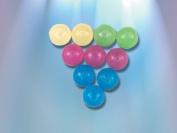 Ice Balls Asst Colours Set of 10