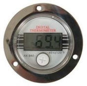 Industrial Grade 1EPF3 Panel Mount Thermometer, Digital