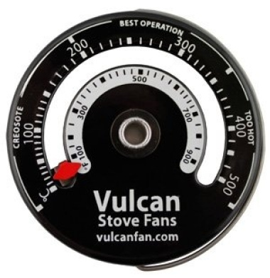 Stove Thermometer for Stoves, Flues or Stovepipes