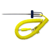 Cooper Atkins Type K General Purpose Needle Probe w/ Coiled Cable