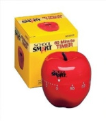 School Smart Apple Timer with Bell - 60 Minutes