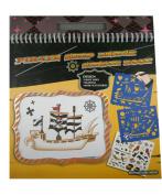Pirate Ship Design Sketch Portfolio