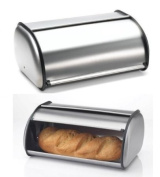 Imperial MW1279 Brushed Stainless Steel Bread Box