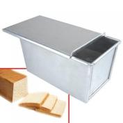 Rectangle Aluminium Sandwich Loaf Bread Tin Pan Box