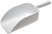 Adcraft KS-14 35.6cm Overall Length, White Heavy Duty Plastic Scoop