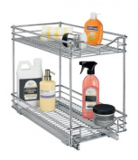 Lynk 441118DS RollOut Double Drawer Cabinet Organisation, Chrome