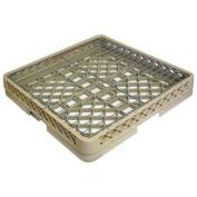 Vollrath 19-1.9cm x 19-1.9cm Beige Open Rack W/ Hold Down Grid