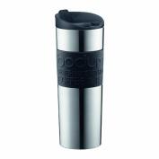 Bodum Insulated Stainless-Steel Vacuum Travel Mug, 0.45-Litre, 440ml, Black